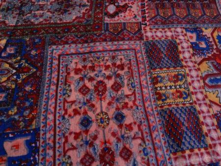 شال زنانه طرح فرش کد 185