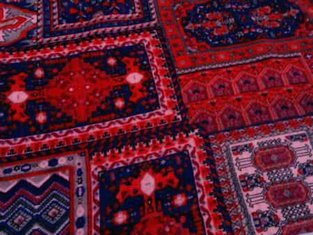 شال زنانه طرح فرش کد 187