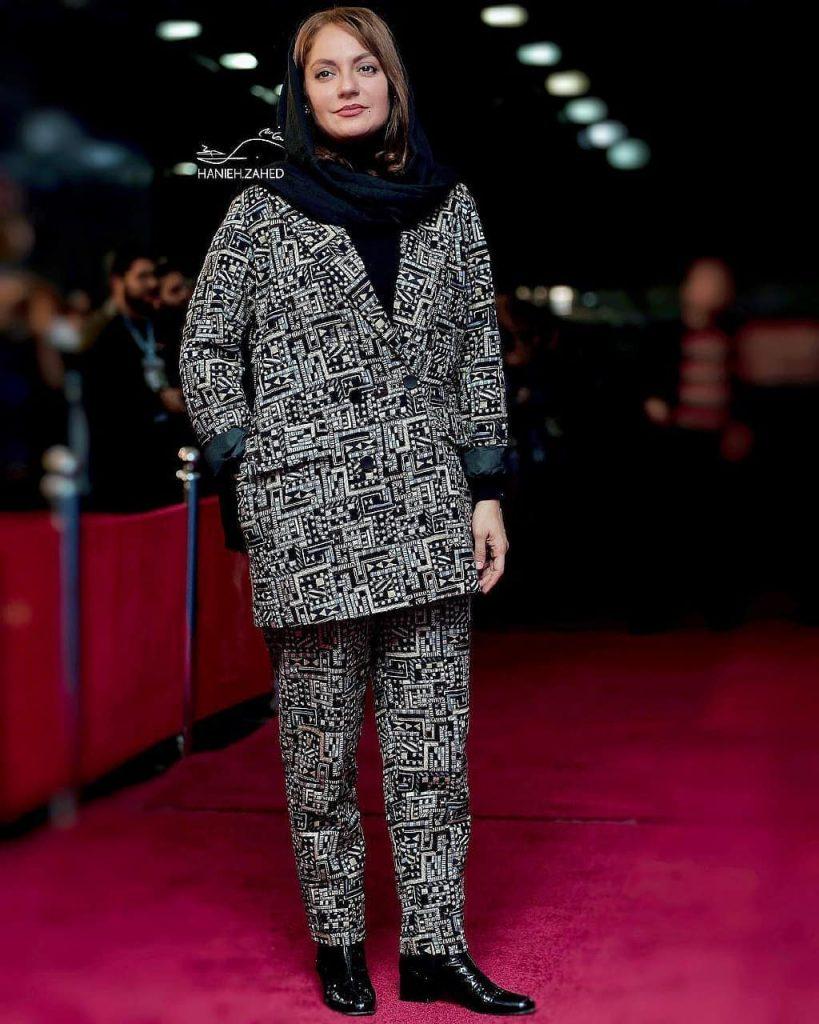 مهناز افشار در فوتوکال فیلم قسم جشنواره فیلم فجر
