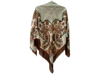 روسری نخی ریشه پرزی کد 409
