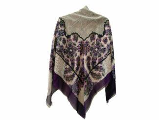 روسری نخی ریشه پرزی کد 410
