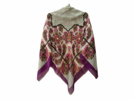 روسری نخی ریشه پرزی کد 411