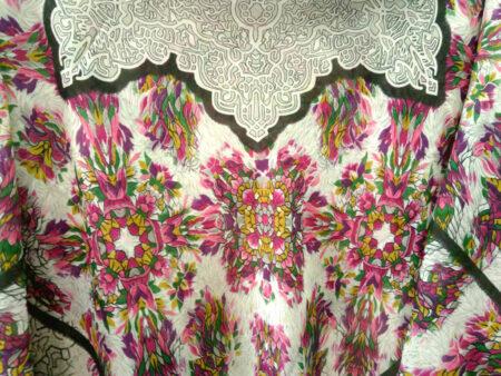 روسری نخی ریشه پرزی کد 411 | فروشگاه اینترنتی کاشانه