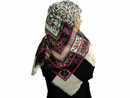 روسری ریشه دار نخی 475