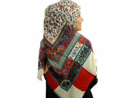 روسری ریشه دار نخی 476