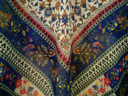روسری ریشه پرزی نخی کد 479
