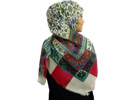 روسری ریشه دار نخی 480
