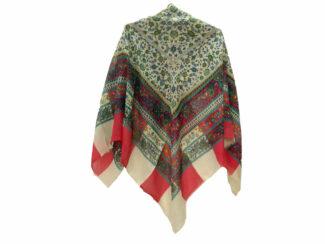 روسری ریشه پرزی نخی کد 480
