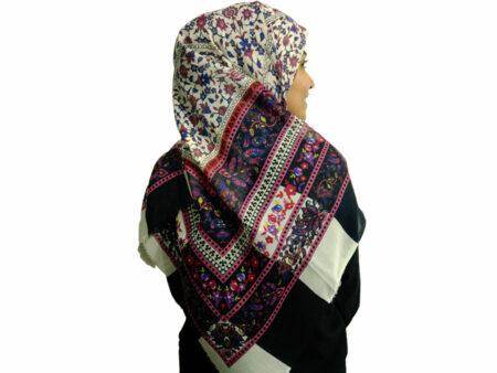 روسری ریشه دار نخی 481