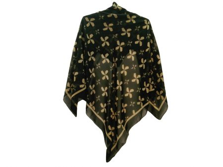 روسری حریر کرپ کد 484