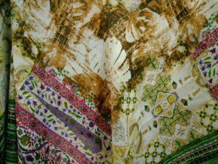 روسری ریشه پرزی نخی کد 492