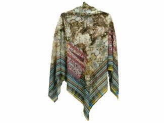 روسری ریشه پرزی نخی کد 493