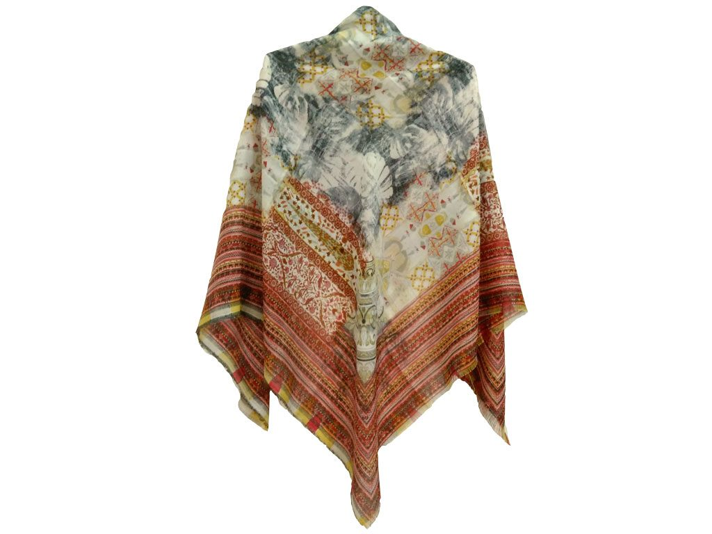 روسری ریشه پرزی نخی کد 494