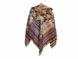 روسری ریشه پرزی نخی کد 495