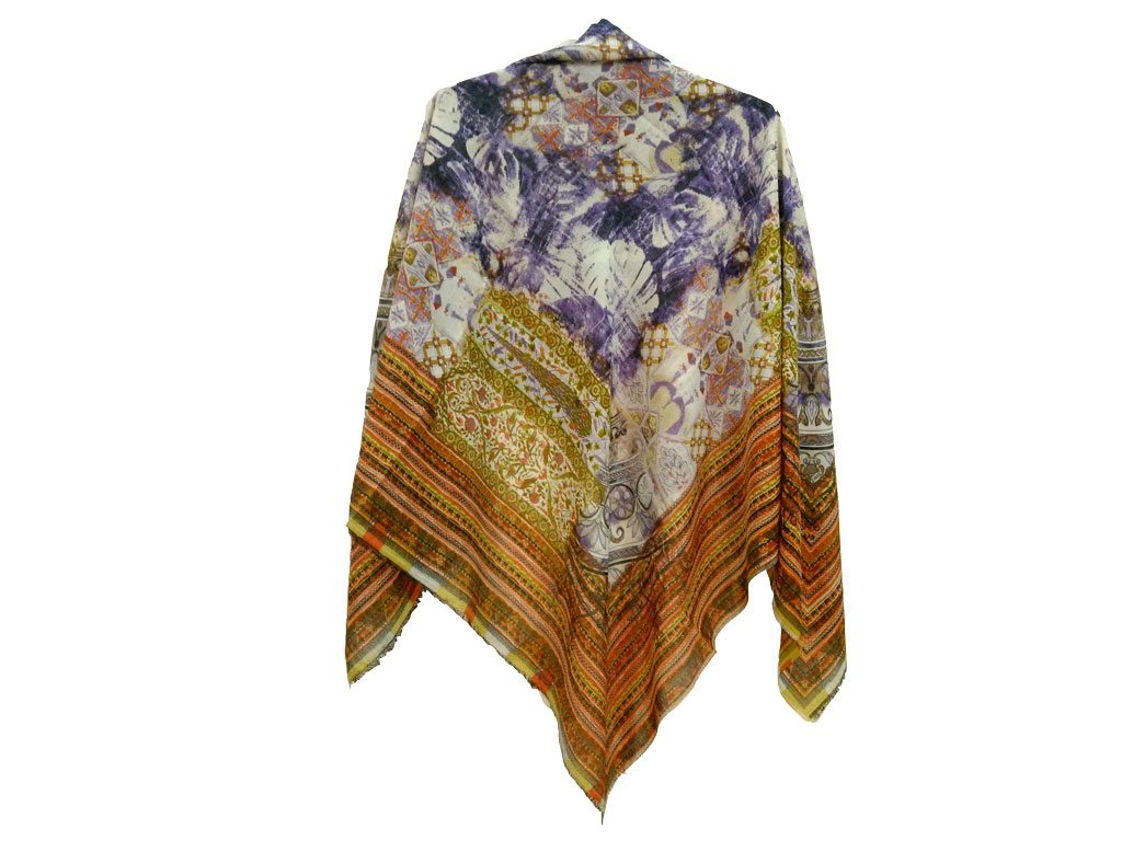 روسری ریشه پرزی نخی کد 499