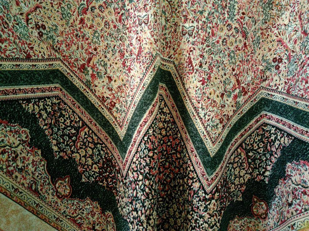 روسری نخی ریشه پرزی کد 624