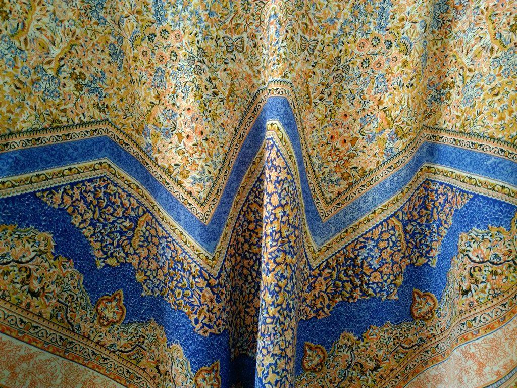 روسری نخی ریشه پرزی کد 625