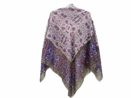 روسری نخی ریشه پرزی کد 636