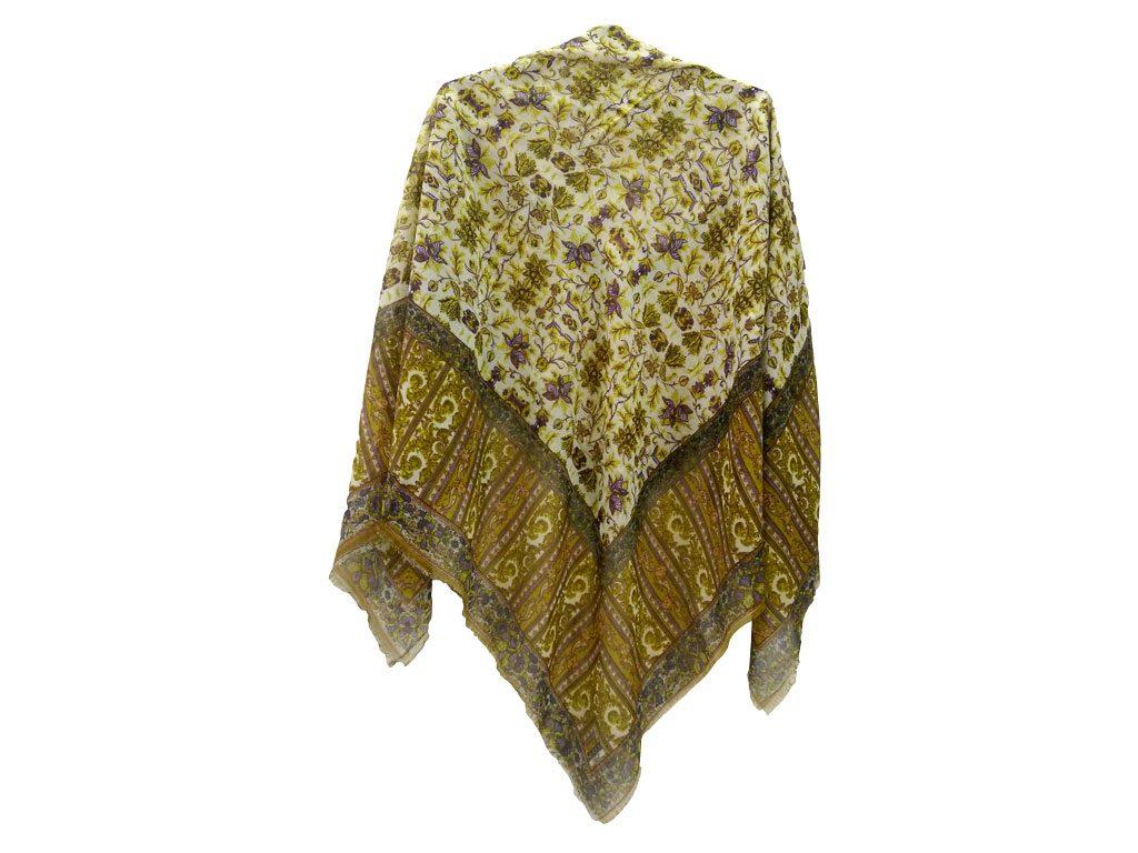 روسری نخی ریشه پرزی کد 637