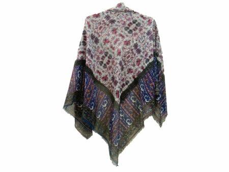 روسری نخی ریشه پرزی کد 639