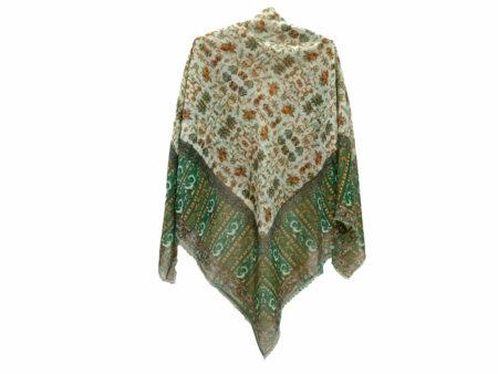 روسری نخی ریشه پرزی کد 641
