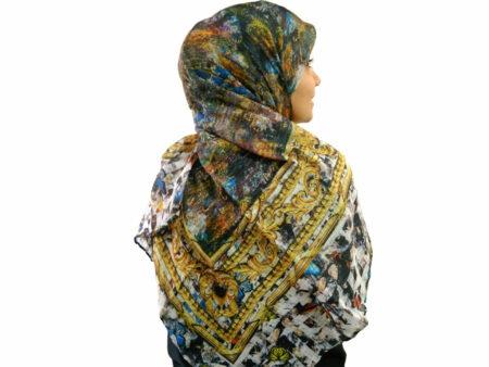 خرید و قیمت روسری لمه پروانه ای