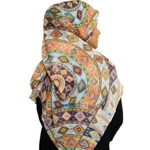 روسری نخی لمه دار دست دوز ۷۰۰ | خرید اینترنتی شال و روسری