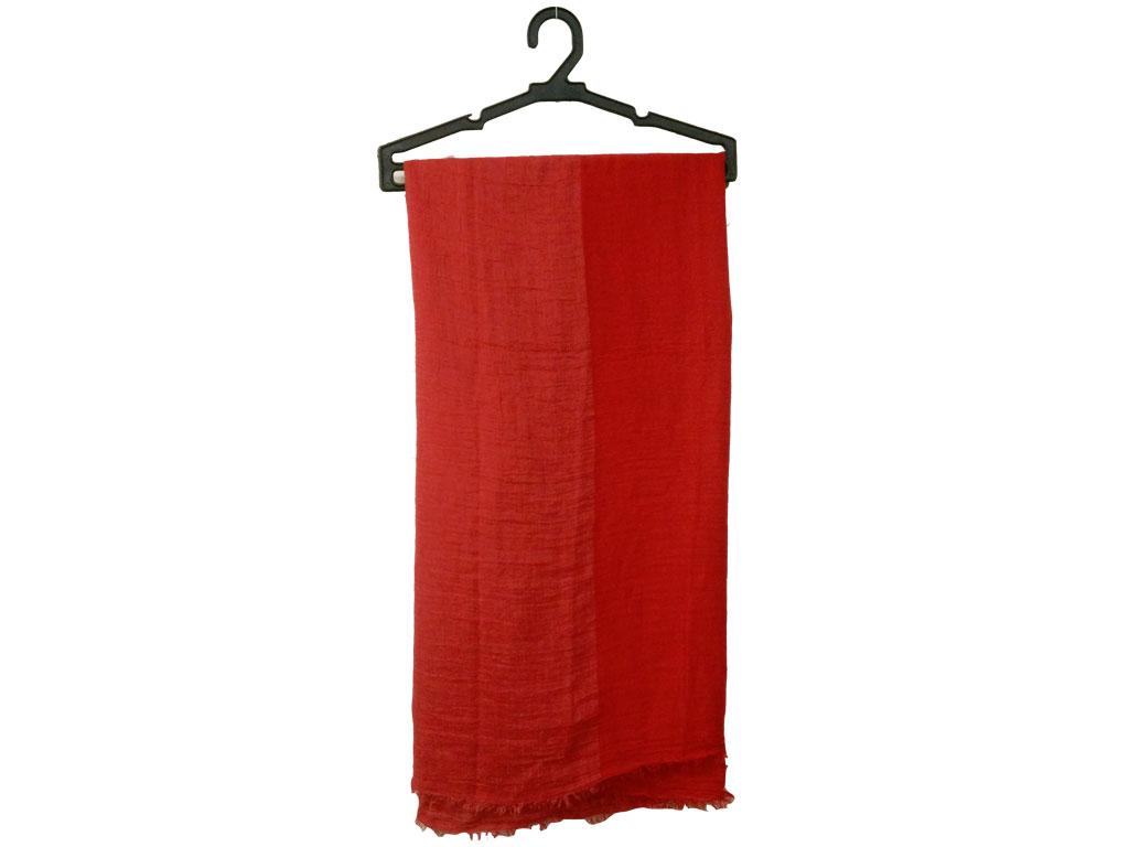 شال کنفی هنرمندی قرمز 762