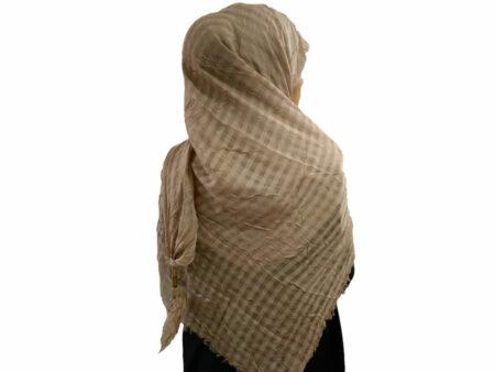 روسری نخی منگوله دار کالباسی 780