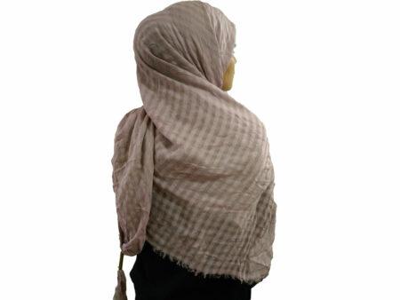 روسری نخی منگوله دار یاسی 784