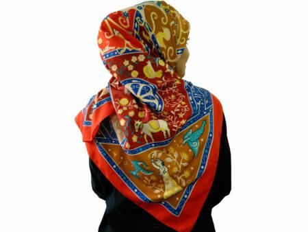 روسری توییل اعلا برند banxiaxiyu کد 797