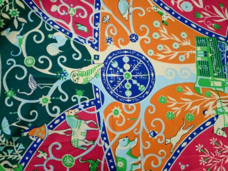 روسری تیویل اعلا برند banxiaxiyu کد 798