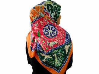 روسری توییل اعلا برند banxiaxiyu کد 798