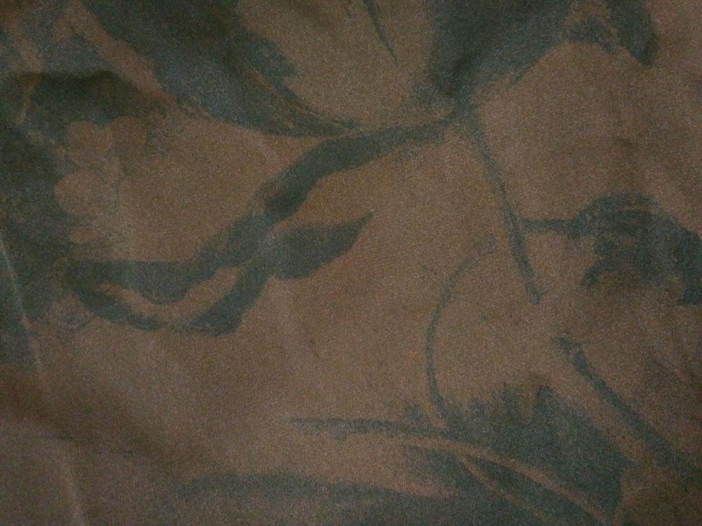 بافت روسری مامی دست دوز قهوه ای 811