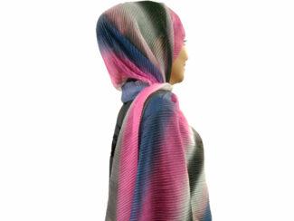 شال پلیسه شنی طیفی 813 | خرید شال طیفی قیمت مناسب | فروشگاه تخصصی شال و روسری کاشانه