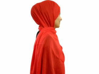 شال قرمز سوپرنخ 854 | خرید اینترنتی شال و روسری