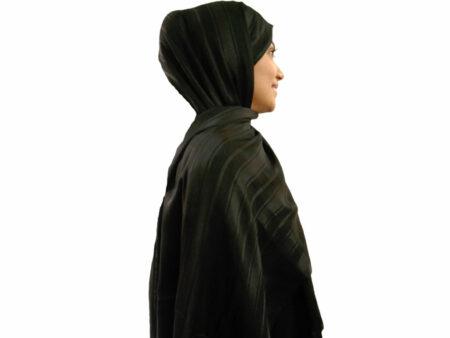 خرید شال نخی مشکی 890   خرید شال مشکی   فروشگاه تخصصی شال و روسری کاشانه