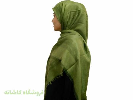 مدل روسری ژاکارد سبز