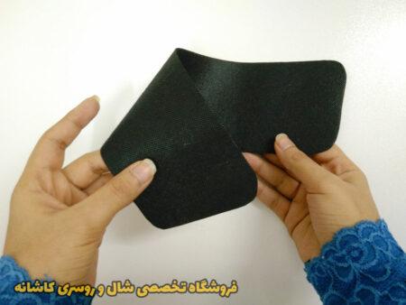 تصویری از دو طرف طلق روسری کاشانه