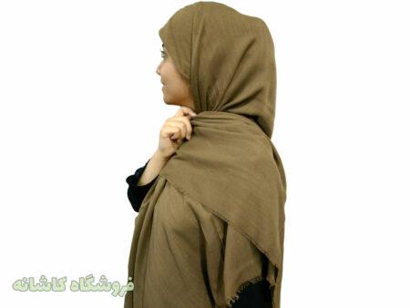 روسری سوپرنخ قهوه ای