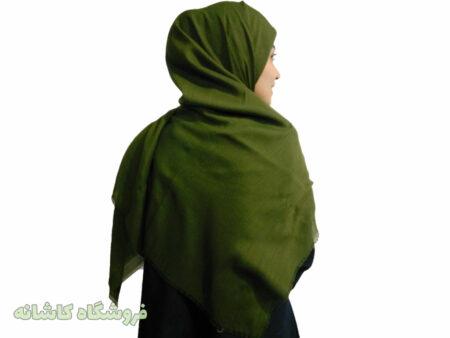 روسری سبز قواره بزرگ